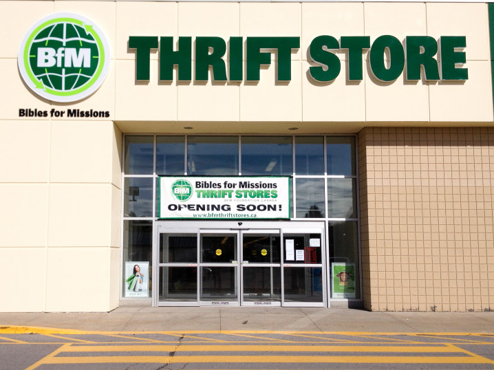 Not just a thrift store