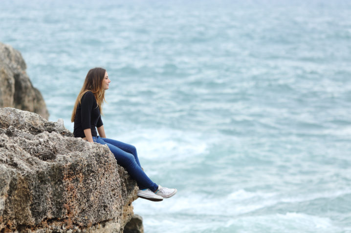 Seeing challenges, but seeking God
