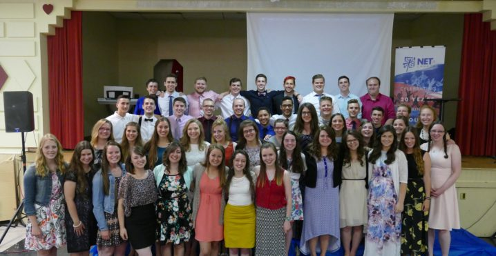 NET missionaries celebrate this year's catch