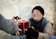 An early Christmas for the homeless