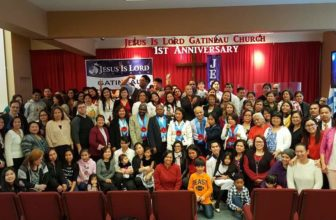 Church quadruples in first year